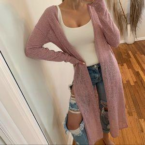 LAST2 • Cleo Knit Duster, Blush